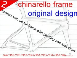 Wholesale New arrivel chinarello full carbon road bike bicycle frame sky color