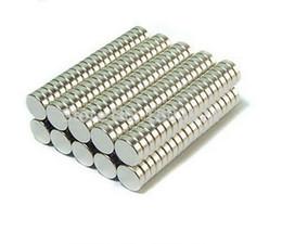 2017 aimant néodyme forte 100pcs / lot 5mm x 2mm Super Strong Round Rare Earth Neodymium Cylinder Magnets N35 Livraison gratuite peu coûteux aimant néodyme forte