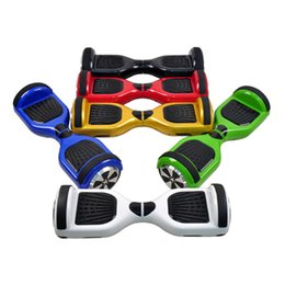 Wholesale Two wheel Electric Scooter Inch mAh Battery Smart Balance Boards Wheel Self Balancing Scooters with black strip bumper