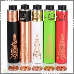 Wholesale Huge Vapor Rig V2 Kit Rig V2 Mod Roughneck RDA Colors Battery with Magnet Switch Copper Pin High quality DHL Free