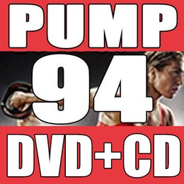 Wholesale July Q3 Body The New Routine BP Pump Aerobic Exercise Barbell Weight lifting Videos BP94 DVD CD Have Box