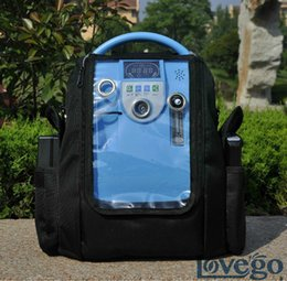 Wholesale 5LPM Portable Oxygen Concentrator with battery for car travel home use