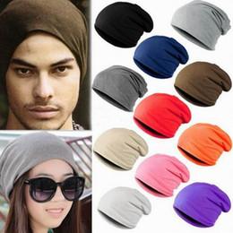 Wholesale-Hot Fashion Winter Warm Unisex Knitted Ski Crochet Slouchy Hat Cap for Women Men Beanies Hip Hop Hats XT2015163
