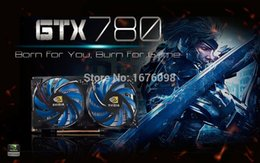 Wholesale GTX780 bit graphics computer card Top end G independent GTX public version of MB placa de video nvidia Games card