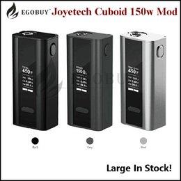 Wholesale Authentic Joyetech Cuboid W TC Box Mod Match cubis SS316 Coils tron ego one mini gs air melo2 target w Atomizer Original joytech