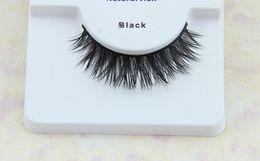 Wholesale D7 style pairs100 real siberian mink fur false eyelash mink lashes thick fake long crisscross eyelashes