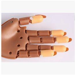 Wholesale 100pcs CCA2170 New Professional Nail Trainer Practice Hand Super Flexible Fingers Personal Salon Adjustable Practice Hand Nail Training