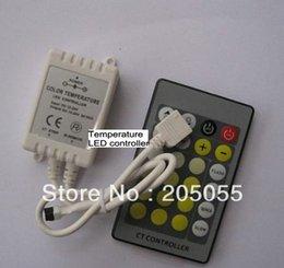Wholesale DC12V V key Color Temperature LED Controller Dimmer for SMD Color temp LED Strip