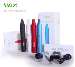 Wholesale VAX Dry Herb Vaporizer Pen wax Smoking ecig Vapor Cigarettes Atoms Pen mah E cigarettes VS Snoop dogg g pro vaporizer pen