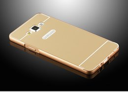 Wholesale G3606 Aluminum Case Phone Frame Hard Back cover for Samsung Galaxy Core Prime LTE SM G3606 G360 G3608 G3609