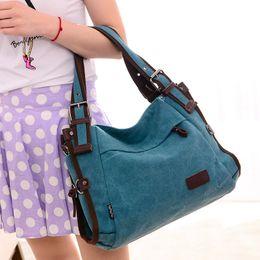 Wholesale-High Quality Women Bag Canvas Handbags Messenger bags for Women Handbag Shoulder Bags Designer Handbags bolsa feminina