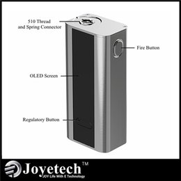 Wholesale Joyetech Cuboid W TC VW Box Mod Support SS316 Coils Best Match Cubis Atomizer Original factory supply