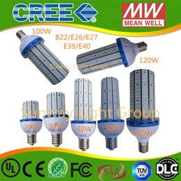 Promotion e27 ce smd 30W 40W 60W 80 100W 120W Ampoules de maïs de LED avec le ventilateur de refroidissement d'entrée Lumière élevée de smd 2835 AC85 ~ 277V Maïs Lumière CE ROHS