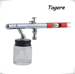Wholesale Tagore TG125 New MM MM Dual Action Tattoo Body Art Painting Best Airbrush Tan Factory Direct Sales