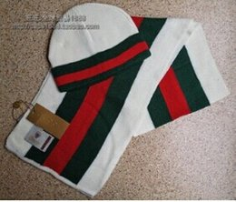 Wholesale Men and women hat scarf two piece