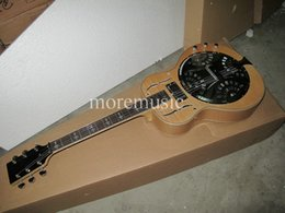 Best High Custom Dobro Electrc Guitar in Natural Wholesale From China HOT guitars