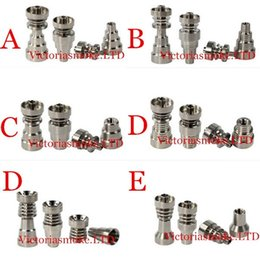Wholesale Titanium Nail mm mm mm IN IN IN domeless titanium nail with male and female joint