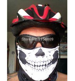 Wholesale-Multi Purpose Skull Head Wear Hat Scarf Face Mask Cap for Bike Motorcycle