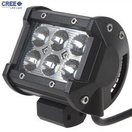 Wholesale 1400LM W x W Cree LED bar Work Light for Motorcycle Tractor Boat WD Offroad x4 Truck SUV ATV