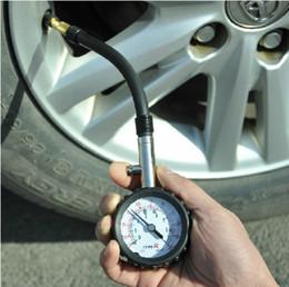 Wholesale Precision automotive tire pressure gauge pressure gauge pressure can be detected deflate accurately adjust tire pressure