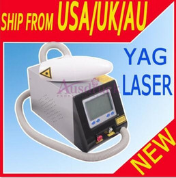 New Arrival Professional Q-SWITCH Nd Yag Laser Tattoo Removal Eyebrow Freckle Skin Spot Removal Laser Machine
