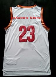 Wholesale 2015 blanco cosido Jersey mayor descuento Varios Jersey barata de baloncesto baloncesto Jersey de alta calidad de las tapas desgaste del baloncesto