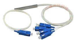 Wholesale Factory Direct min SC PLC fiber splitter pipe type optical splitter optical splitter X4