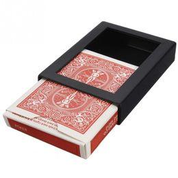 Wholesale Deck Disappearing Vanishing Magical Card Case Close Up Magic Trick Box Fun Poker