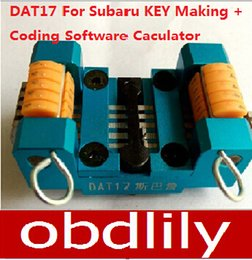 Newest DAT17 locksmith car key maker car key tool machine + code software to do the whole lost key by hand Free ship
