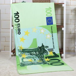 Wholesale 2015 Hot sale Creative Unisex Cotton Polyester UK Bikini printed beach towel USD design beach towel beach towel Party bath towel