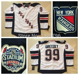 2016 New, Cheap Wayne Gretzky Jersey New York Rangers Hockey Jerseys 2014 Stadium Series #99 Wayne Gretzky White Men's Stitched J