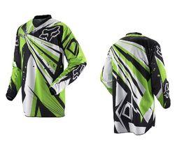 Wholesale-NEW motocross Jerseys Dirt bike cycling bicycle MTB downhill shirts motorcycle t shirt Racing Jersey ,white