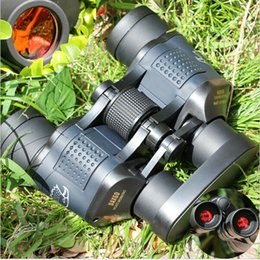 Wholesale New x60 M Ourdoor Waterproof Telescope High Power Definition Binoculos Night Vision Hunting Binoculars Monocular Telescopio