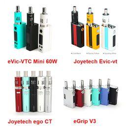 Evic vtc en venta-Joyetech Evic VTC Mini 60w Joyetech CT ego 1100mah 2200mah Joyetch Evic-vt eGrip OLED-CL 30W Joyetch Evic-vt