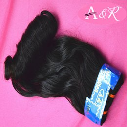 Wholesale Popular Brazilian Peruvian Malaysian Hair Weaves Raw Material Color B Indian Magical Curl Hair Weaves Extensions Bundles Inch