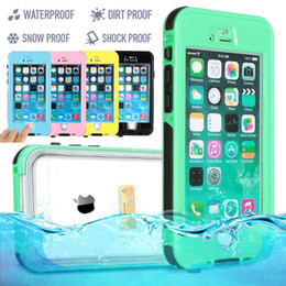 """Wholesale-HIGHT QUALITY WATERPROOF SHOCKPROOF DIRTPROOF CASE COVER FOR  IPHONE 6 4.7"""" & 6 PLUS 5.5"""" Multicolors FREE"""