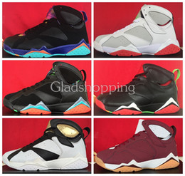 Wholesale 2015 Retro Cigar Champagne Marvin the Martian Hare Court Purple Sweater Men Women Basketball Shoes J7S Basketball Sneakers For Sale