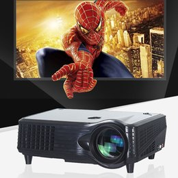 Wholesale VS P Full HD LED Projector Lumens Contrast Ratio with HDMI VGA Port Remote Controller