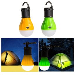 Wholesale Best Promotion Outdoor Portable Hanging LED Camping Tent Light Bulb Fishing Lantern Lamp Torch Colors