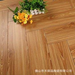 Wholesale factory direct imitation wood ceramic tile floor tile tile high grade wood blocks