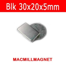 4pcs pack, magnetic materials block 30x20x5mm Strong Permanent Magnet, craft magnet, Free Shipping