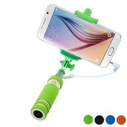 Wholesale Quick Release Clamp Best Deal Travel Handheld Fold Mini Self pole Portrait Monopod Stick Extendable Pau De Selfie Tripod Universal