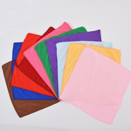 30x30cm Microfiber Car Cleaning Towel Microfibre Detailing Polishing Scrubing Hand Towel Car Wash