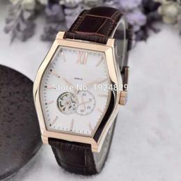 Wholesale New Top Brands VC Luxury Men Watch S7 Automatic Movement Tourbillon Rose Gold Case Men s Fashion Wrist Watches Best Gift