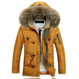 Wholesale Fall Thick Warm Winter Wellensteyn White Duck Down Jackets And Coats Mens Goose Canada Parka High Quality Manteau Homme Hiver