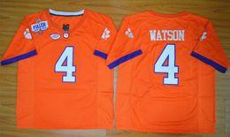 Wholesale Clemson Tigers DeShaun Watson Diamond Quest College Football Jersey Men s Stitched Logo High quality jersey Size S XL
