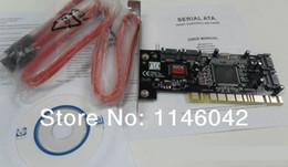 Wholesale SATA SERIAL ATA PCI CONTROLLER RAID I O CARD PC Cable