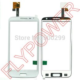 Wholesale-100% Warranty White Touch Screen Digitizer glass For Star N9500 by Free Shipping