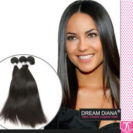 4 Bundles Of Brazilian Straight Hair Black1B Kinky Straight Hair Weave Brazilian Virgin Hair Rosa Products Human Hair Extension Ms Lula hair