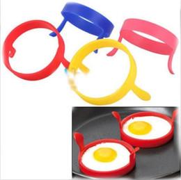 Wholesale Egg Rings Breakfast Egg Mold Silicone Pancake Egg Moulds Cooking Tools Desayuno Marco Del Huevo Molde